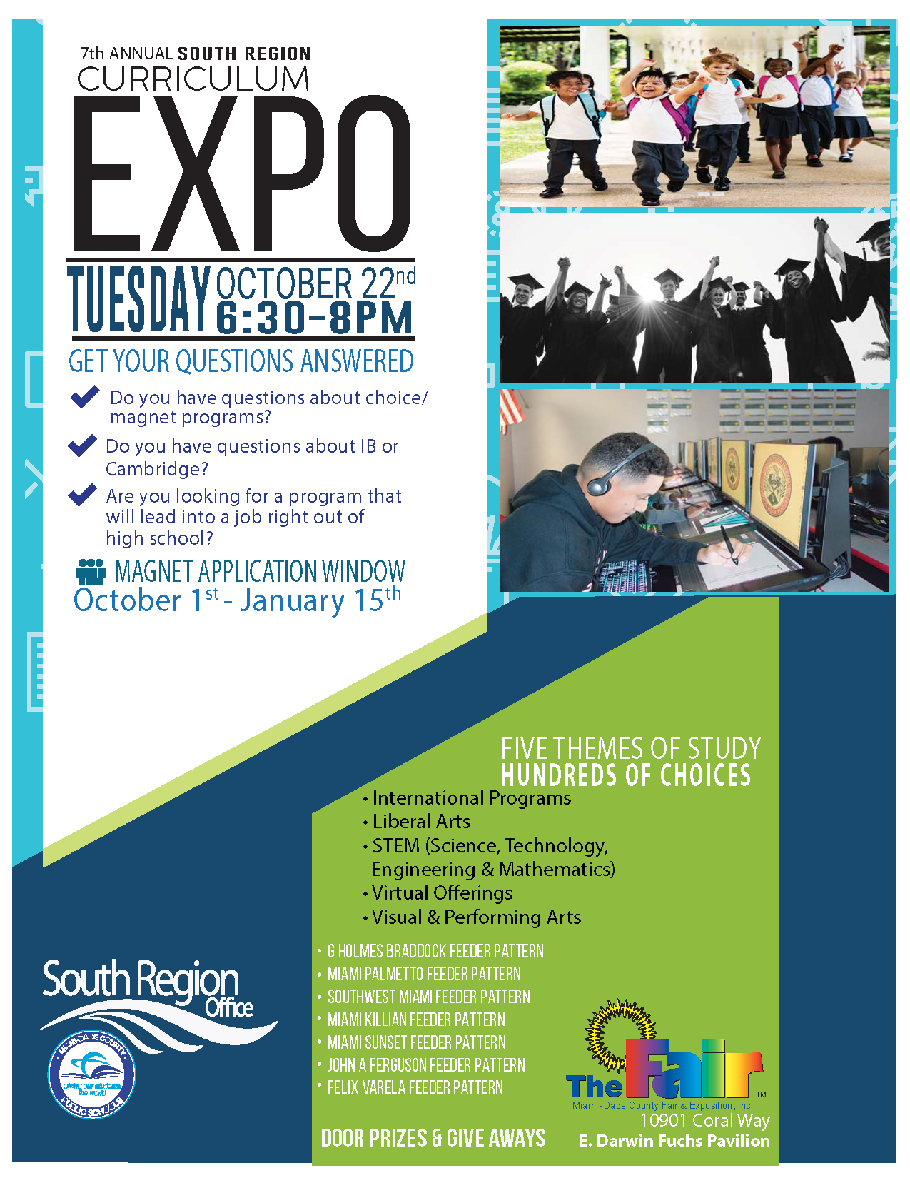 Curriculum Expo @ Miami-Dade County Fair & Expo E. Darwin Fuchs Pavilion